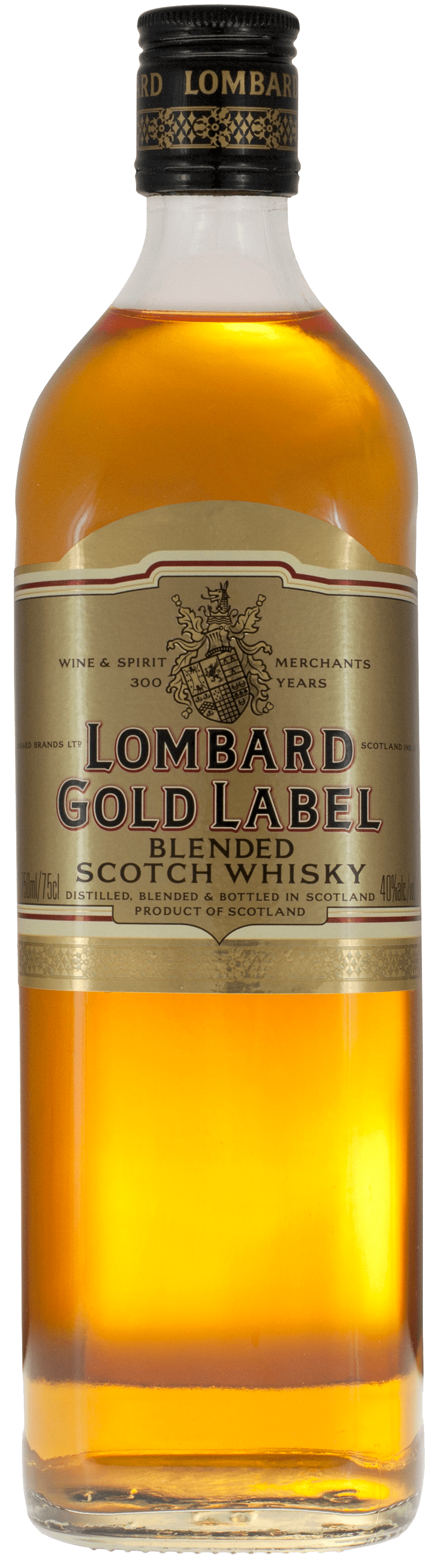 Whiskey Lombard Gold Label