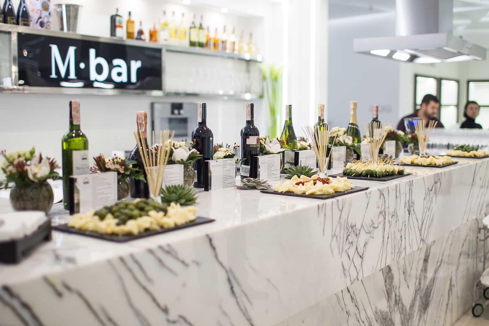 M-bar opening